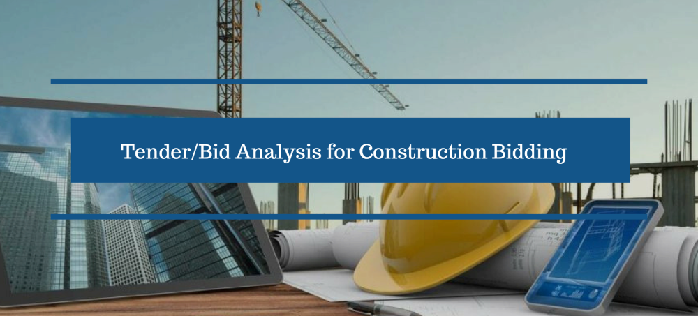 TenderBid Analysis for Construction Bidding